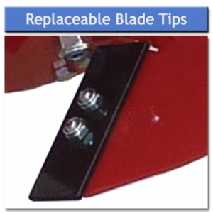 Rotary Plough Blade Tips