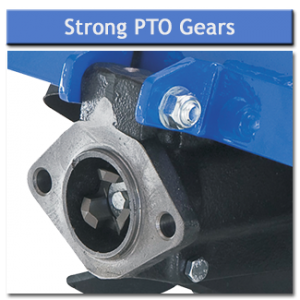 Rotavator Strong PTO Gears