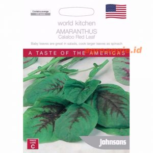 Amaranthus Callaloo Red Leaf