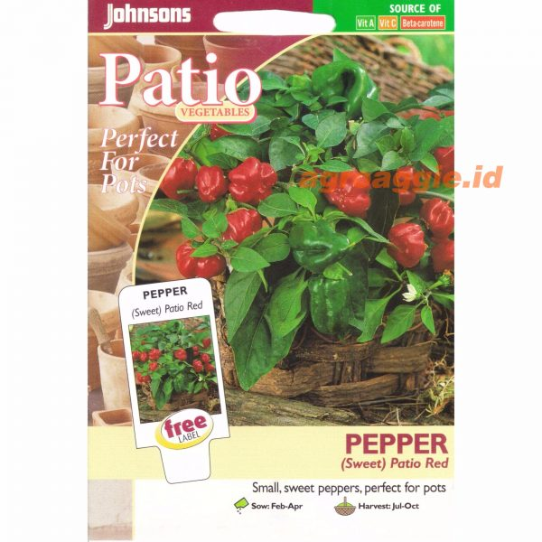 Pepper Sweet Patio Red