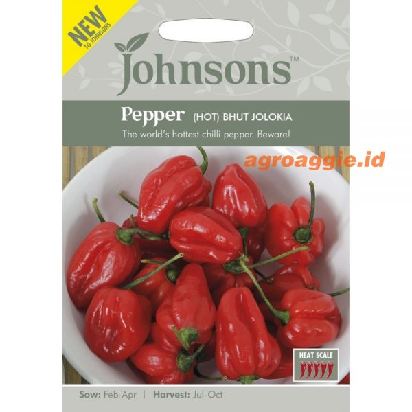 PEPPER Hot Bhut Jolokia