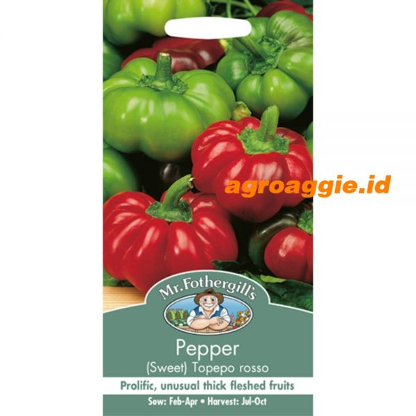 104450 Pepper Sweet Topepo Rosso