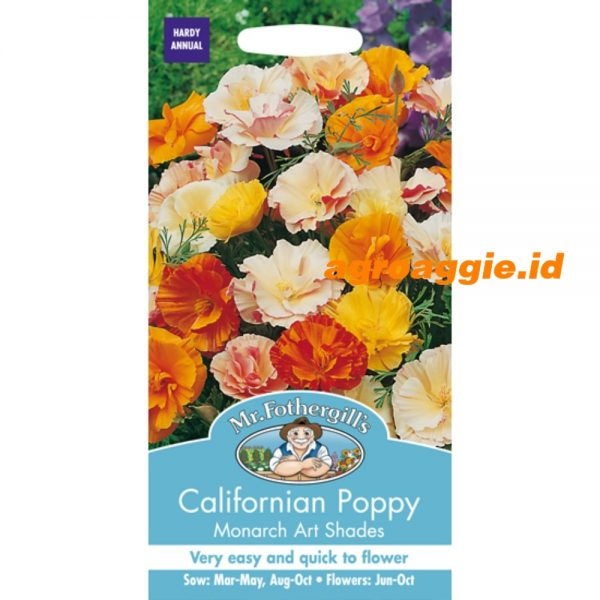 107658 Californian Poppy Monarch Art Shades