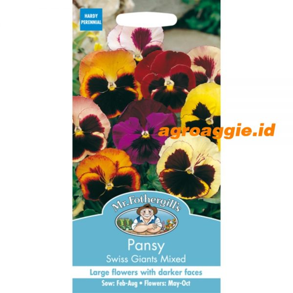 110624 Pansy Swiss Giants Mixed