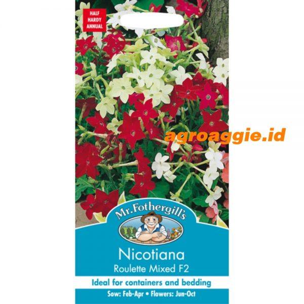 112427 Nicotiana Roulette Mixed F2