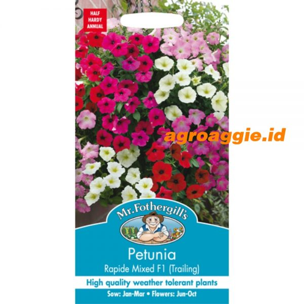 116239 Petunia Rapide Mixed F1 Trailing
