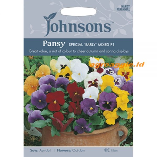 121346 Pansy Special Early Mixed F1