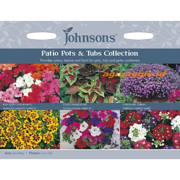 123342 Patio Pots Tubs Collection